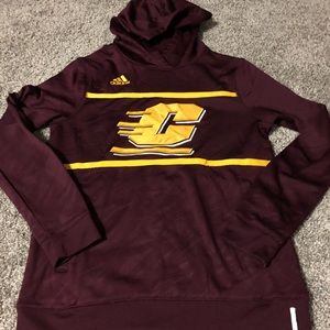 Central Michigan University hoodie by adidas